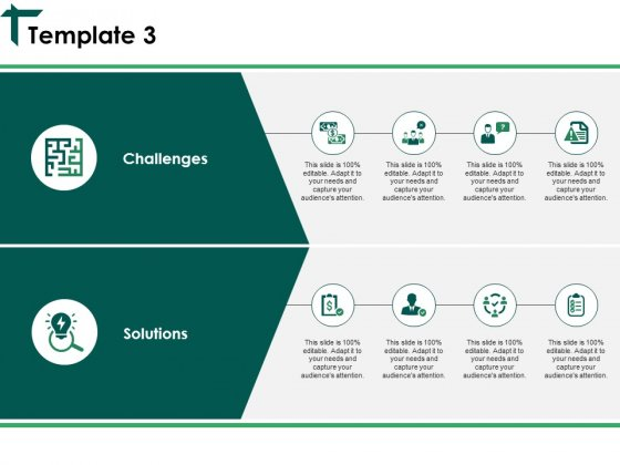 Challenges And Solutions Template 3 Ppt PowerPoint Presentation Infographic Template Infographics