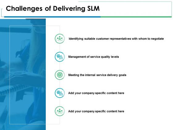 Challenges Of Delivering Slm Management Ppt PowerPoint Presentation Portfolio Brochure