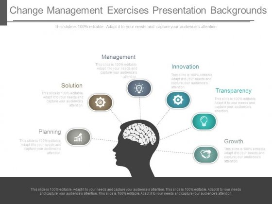 Change Management Exercises Presentation Backgrounds