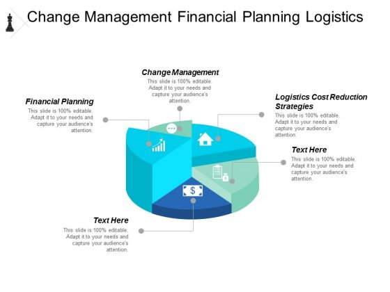 Change Management Financial Planning Logistics Cost Reduction Strategies Ppt PowerPoint Presentation Gallery Visuals