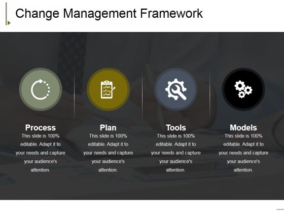 Change Management Framework Ppt PowerPoint Presentation Pictures Background Image