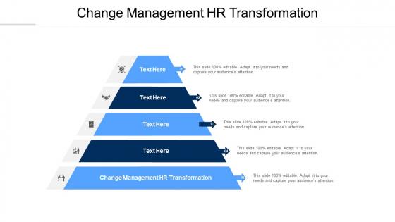 Change Management HR Transformation Ppt PowerPoint Presentation Portfolio Master Slide Cpb Pdf