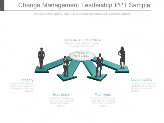 Change Management Leadership Ppt Sample