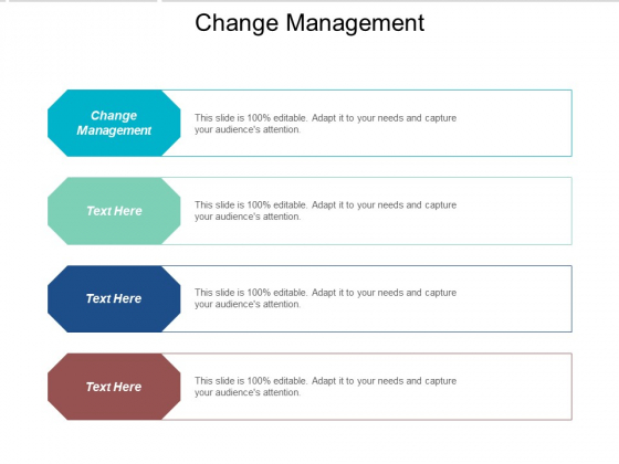 Change management PowerPoint templates, Slides and Graphics