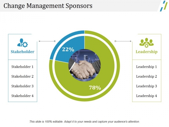 Change Management Sponsors Ppt PowerPoint Presentation Styles Layout Ideas