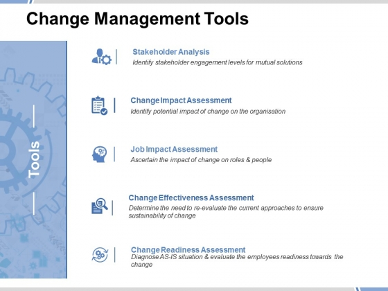 Change Management Tools Ppt PowerPoint Presentation Model Tips