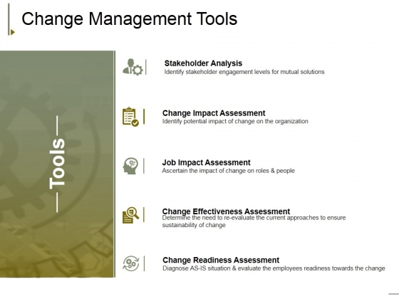 Change Management Tools Ppt PowerPoint Presentation Professional