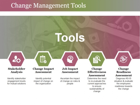 Change Management Tools Ppt PowerPoint Presentation Summary Themes