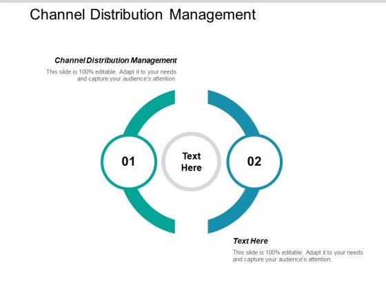 Channel Distribution Management Ppt PowerPoint Presentation Inspiration Background Designs Cpb