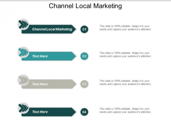 Channel Local Marketing Ppt Powerpoint Presentation Summary Ideas Cpb