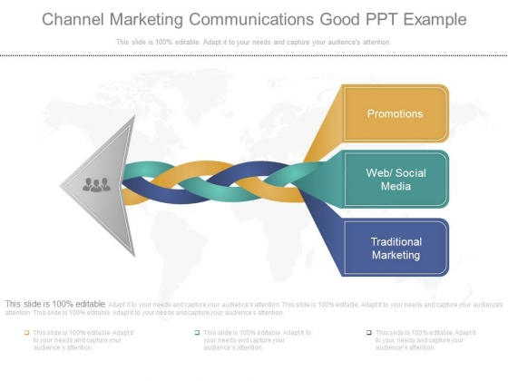 Channel Marketing Communications Good Ppt Example