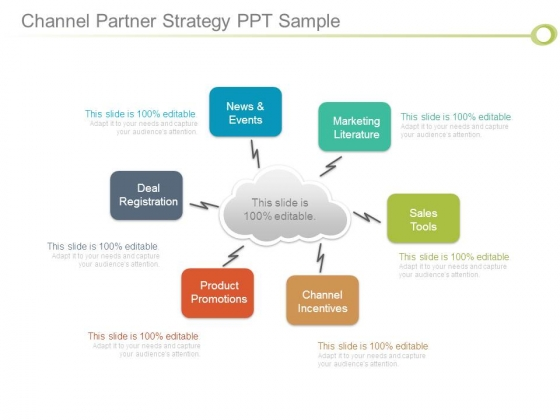 Channel Partner Strategy Ppt Sample