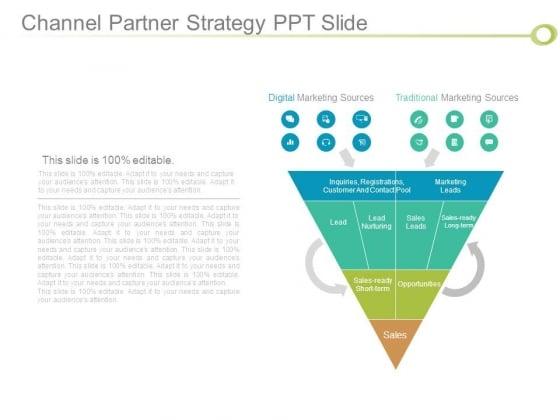 Channel Partner Strategy Ppt Slide