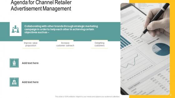 Channel_Retailer_Advertisement_Management_Ppt_PowerPoint_Presentation_Complete_Deck_With_Slides_Slide_2