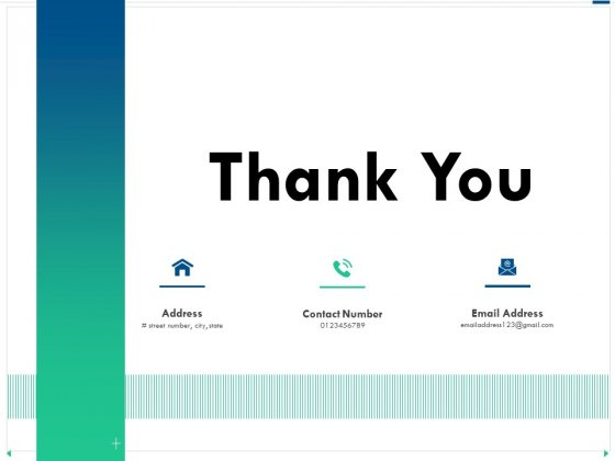 Channel Sales Taking Your Product To Market Thank You Ppt Outline Examples PDF