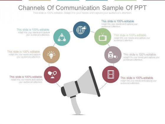 Channels Of Communication Sample Of Ppt