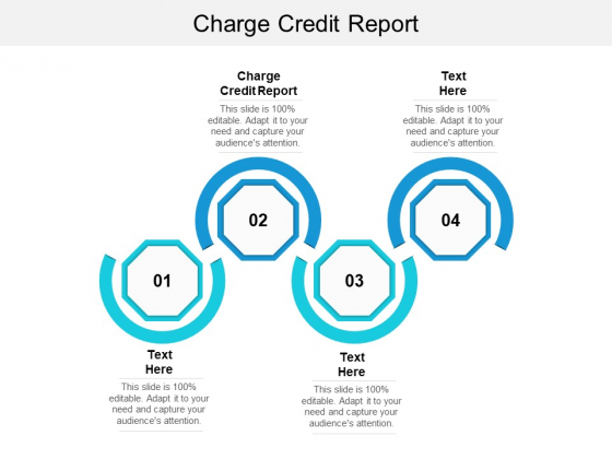 Charge Credit Report Ppt PowerPoint Presentation Show Mockup Cpb Pdf