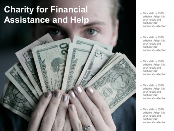 Charity For Financial Assistance And Help Ppt Powerpoint Presentation Ideas Graphics Tutorials