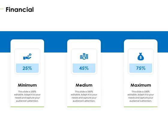 Charity Pitch Deck Financial Designs PDF