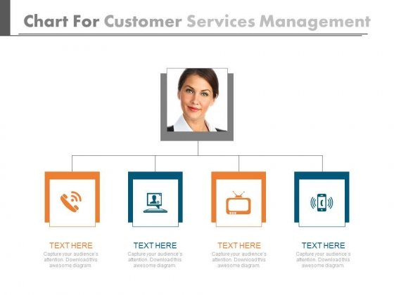 Chart For Technical Support Services Powerpoint Template