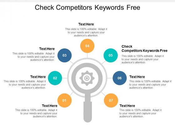 Check Competitors Keywords Free Ppt PowerPoint Presentation Portfolio Styles Cpb