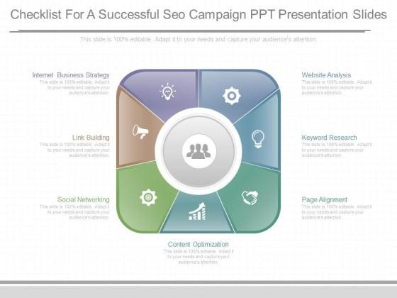Checklist For A Successful Seo Campaign Ppt Presentation Slides