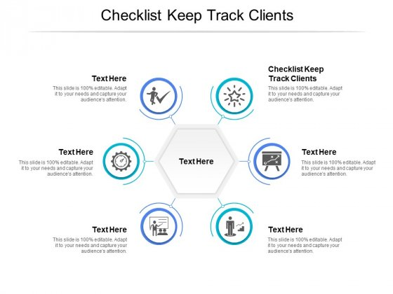 Checklist Keep Track Clients Ppt PowerPoint Presentation Model Design Ideas Cpb