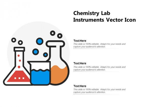 Chemistry Lab Instruments Vector Icon Ppt PowerPoint Presentation Slides Show