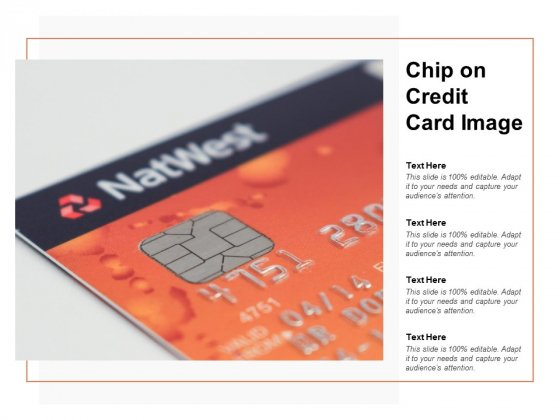 Chip On Credit Card Image Ppt PowerPoint Presentation Slides Backgrounds