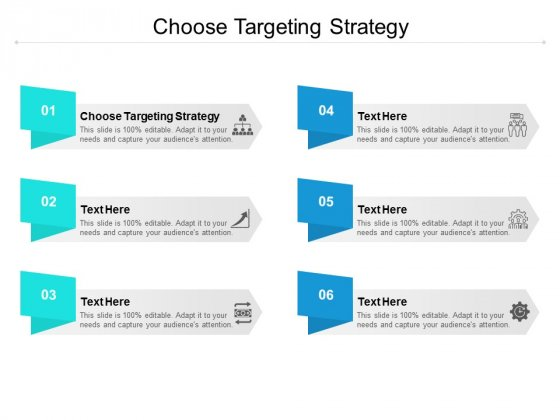 Choose Targeting Strategy Ppt PowerPoint Presentation Background Images Cpb