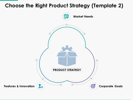 Choose The Right Product Strategy Business Ppt Powerpoint Presentation Layouts Format Ideas