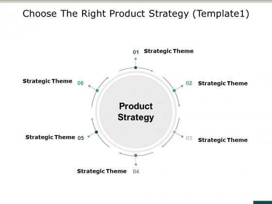 Choose The Right Product Strategy Business Ppt PowerPoint Presentation Professional Template
