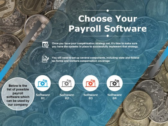 Choose Your Payroll Software Ppt PowerPoint Presentation Icon Ideas
