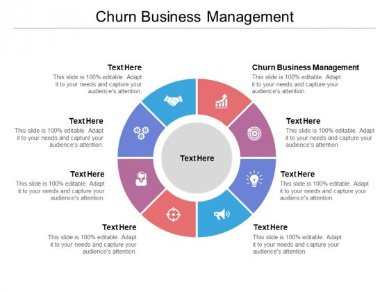 Churn Business Management Ppt PowerPoint Presentation File Diagrams Cpb Pdf