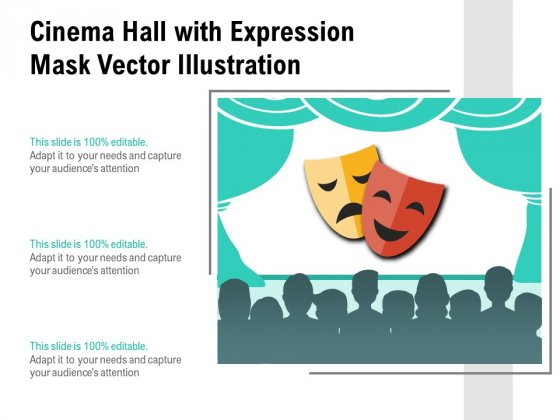 Cinema_Hall_With_Expression_Mask_Vector_Illustration_Ppt_PowerPoint_Presentation_Icon_Layouts_PDF_Slide_1