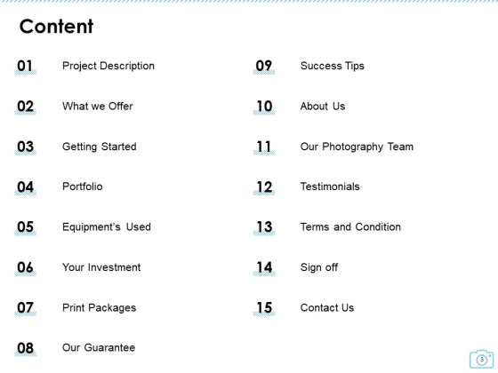 Cinematography_Project_Proposal_Ppt_PowerPoint_Presentation_Complete_Deck_With_Slides_Slide_3