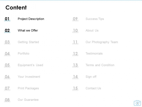 Cinematography_Project_Proposal_Ppt_PowerPoint_Presentation_Complete_Deck_With_Slides_Slide_4