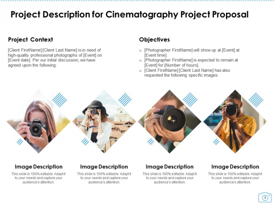Cinematography_Project_Proposal_Ppt_PowerPoint_Presentation_Complete_Deck_With_Slides_Slide_5