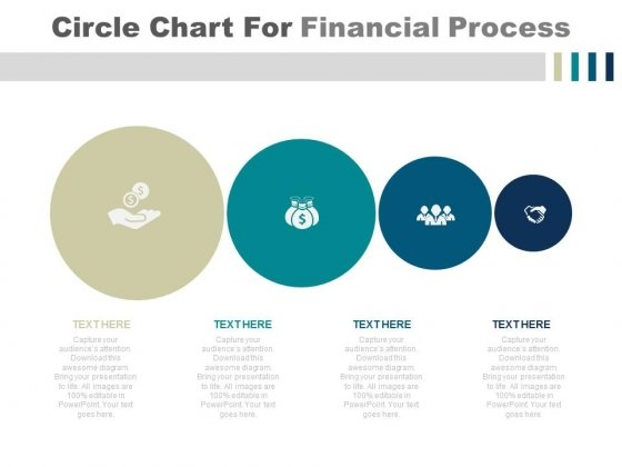 Circle Chart For Financial Planning Process PowerPoint Slides