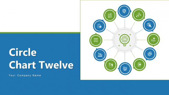 Circle Chart Twelve Budget Planning Ppt PowerPoint Presentation Complete Deck With Slides