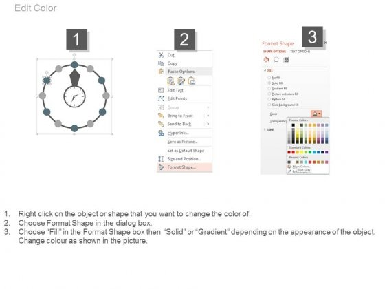 Circle_Steps_For_Time_Management_And_Planning_Powerpoint_Slides_3