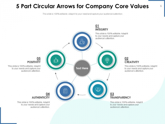 Circle_With_5_Arrows_Analysis_Arrows_Ppt_PowerPoint_Presentation_Complete_Deck_Slide_5