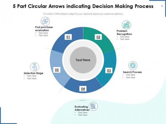 Circle_With_5_Arrows_Analysis_Arrows_Ppt_PowerPoint_Presentation_Complete_Deck_Slide_9