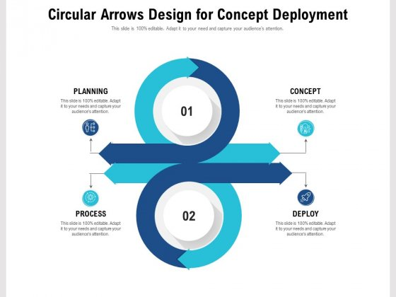 Circular Arrows Design For Concept Deployment Ppt PowerPoint Presentation File Graphic Images PDF
