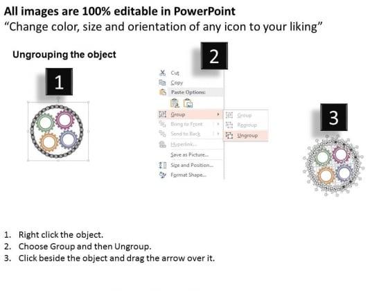 Circular_Chain_Around_Four_Gears_Powerpoint_Templates_2