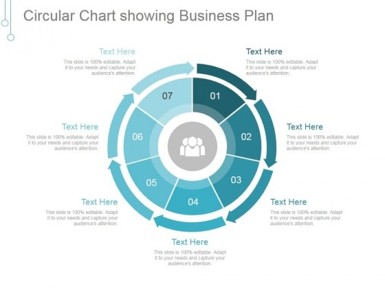 Circular Chart Showing Business Plan Ppt PowerPoint Presentation Shapes