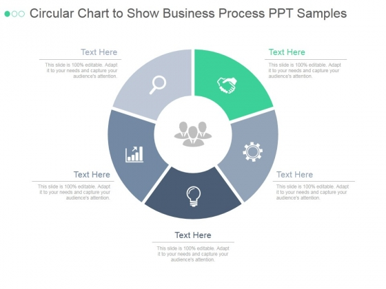 Circular Chart To Show Business Process Ppt PowerPoint Presentation Microsoft