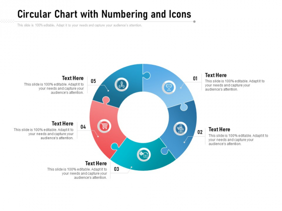 Circular Chart With Numbering And Icons Ppt PowerPoint Presentation File Visual Aids PDF