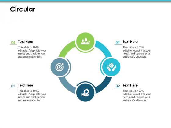 Circular Employee Value Proposition Ppt PowerPoint Presentation Infographic Template Format