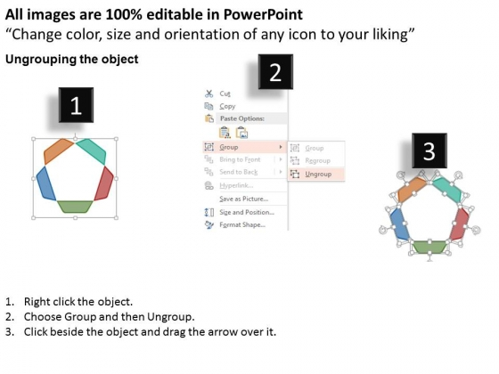 Circular_Five_Steps_Process_Flow_Chart_Powerpoint_Template_2